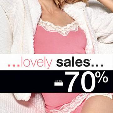 Начало  Lovely Sales в Etam!
